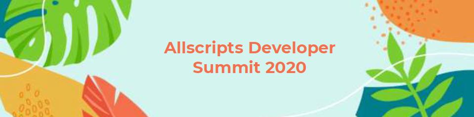 Allscripts Developer Conference